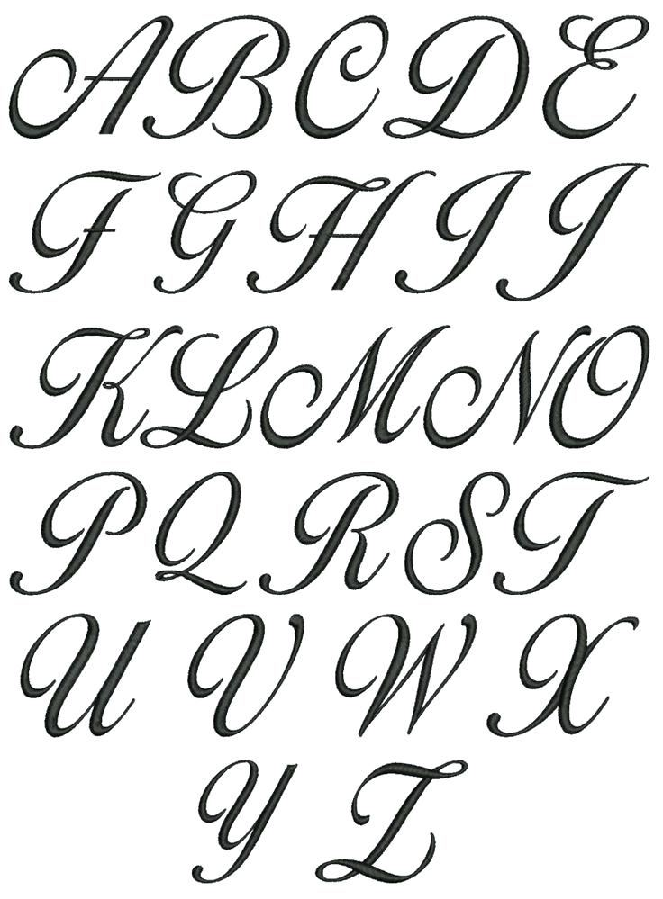 Fancy Alphabet Letters Drawing at GetDrawings