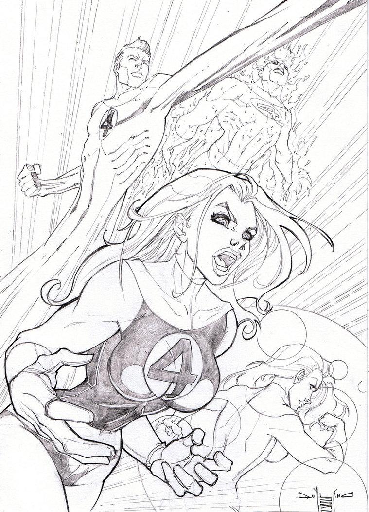759x1052 Fantastic Four By Qualano