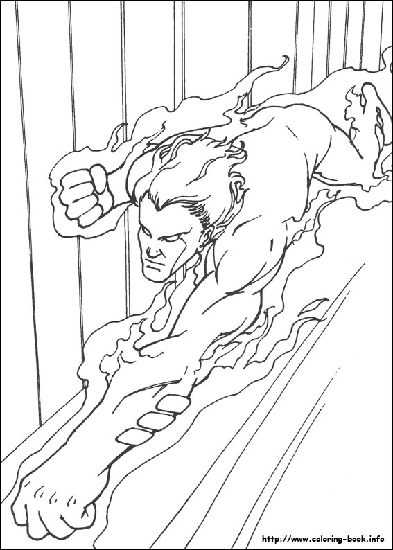 567x794 Four Coloring Picture