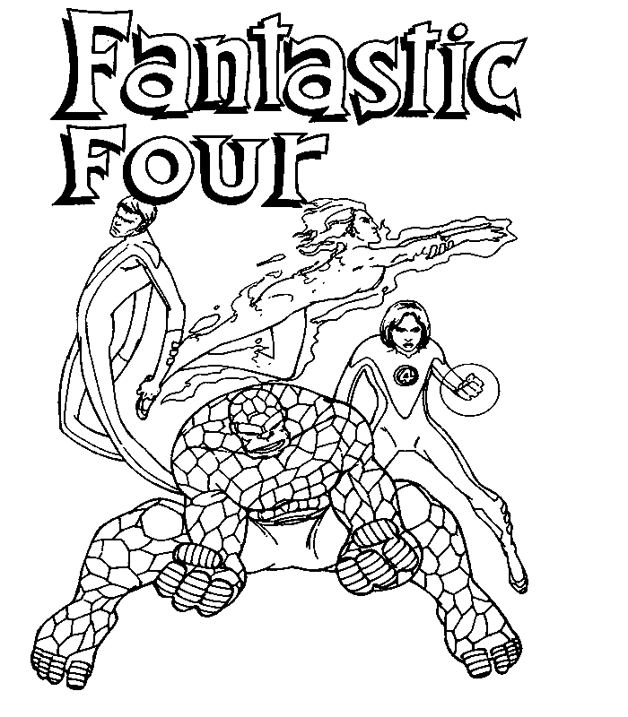 700x800 Fantastic Four