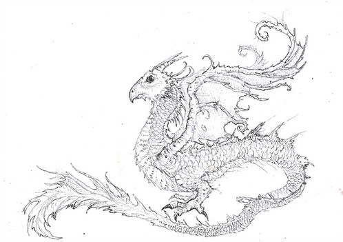 fantasy creatures drawing at getdrawings com free for personal use