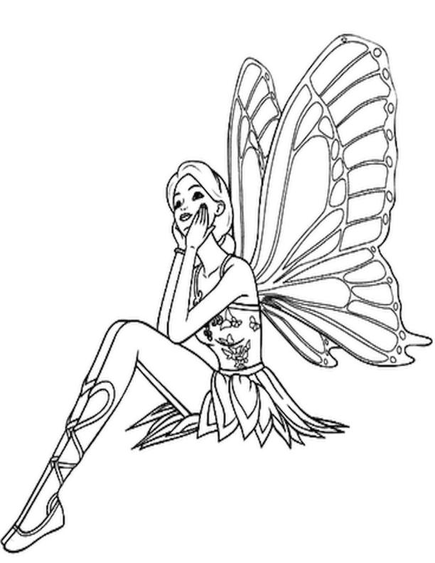 Fantasy Fairy Drawing