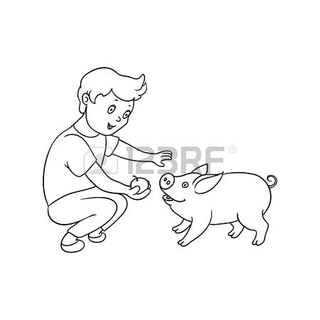Farm Boy Drawing