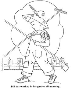 236x288 Barns And Farms Coloring Pages Farm Animalsfarmscountry