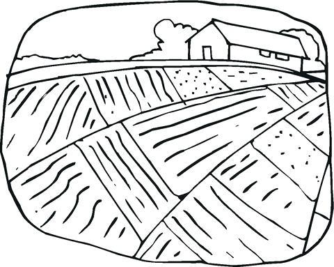 480x383 Farm House Coloring Pages Farm House Coloring Pages Drawn Barn