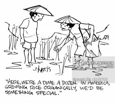400x360 Rice Farmer Cartoons And Comics