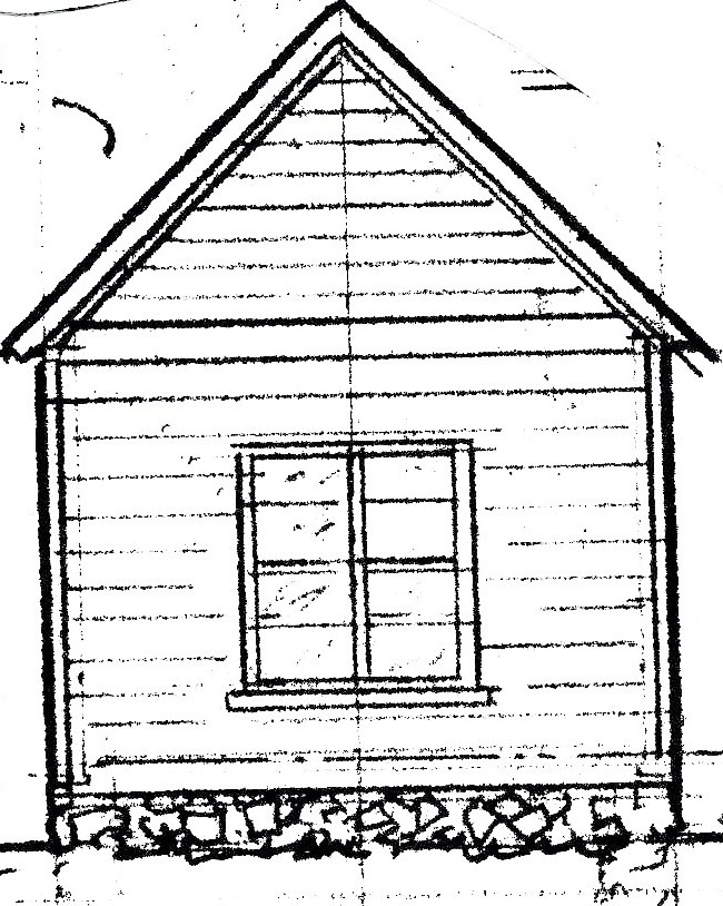 Farm House Drawing