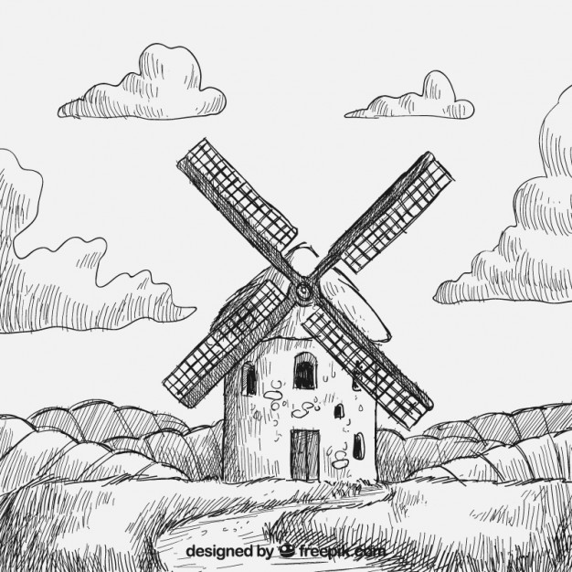 626x626 Windmill Vectors, Photos And Psd Files Free Download