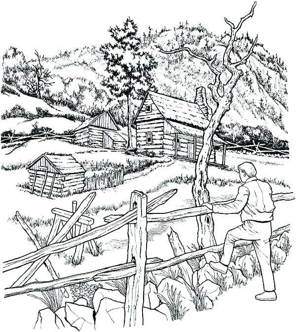 600x672 Coloring Pages Farm Synthesis.site