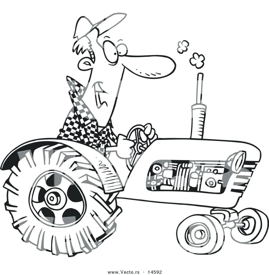 863x880 John Deere Coloring Book Pin Tractor Line Drawing 2 Awesome John