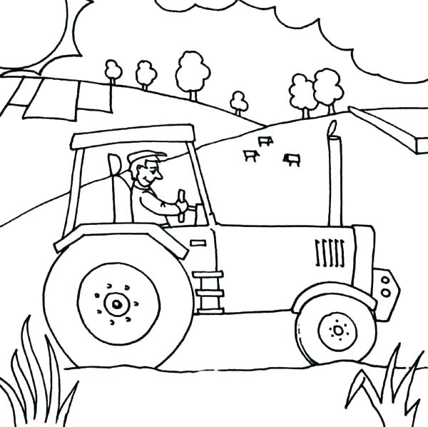 farm tractor drawing at getdrawings free