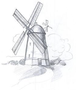 250x299 Draw A Windmill