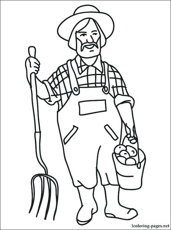 560x750 Printable Farm Coloring Pages Farm Yard Ant Farm Printable