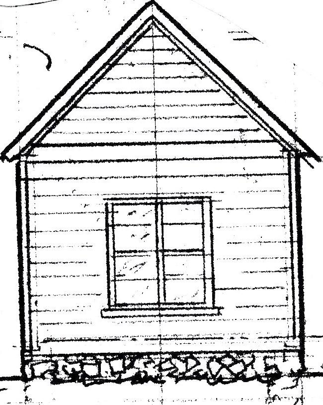 Farmhouse Drawing