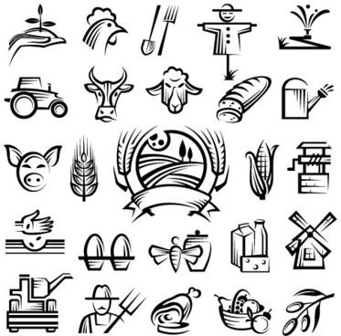373x368 Farm Logo Design Free Vector Download (68,187 Free Vector)