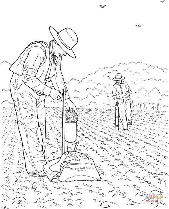 583x720 Farming Coloring Page Free Printable Coloring Pages