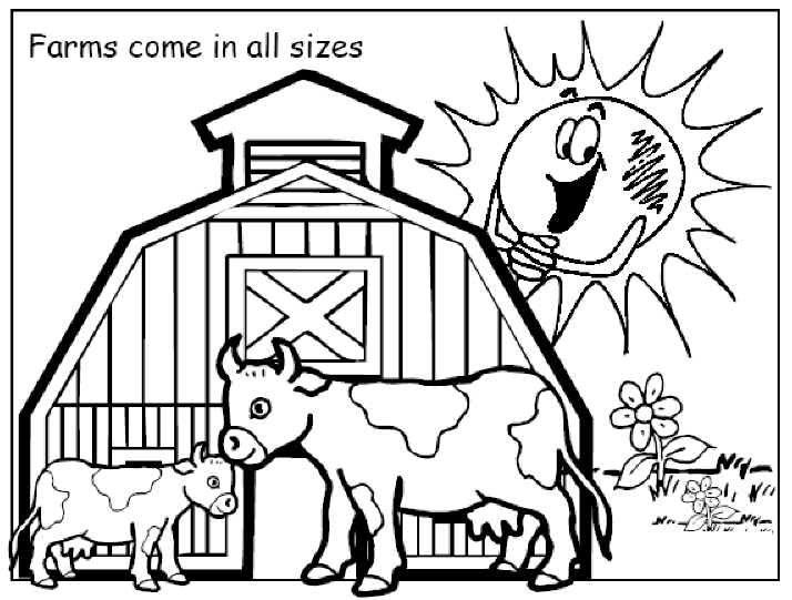714x541 Beautiful Farm Coloring Pages 90 On Download With Farm Coloring