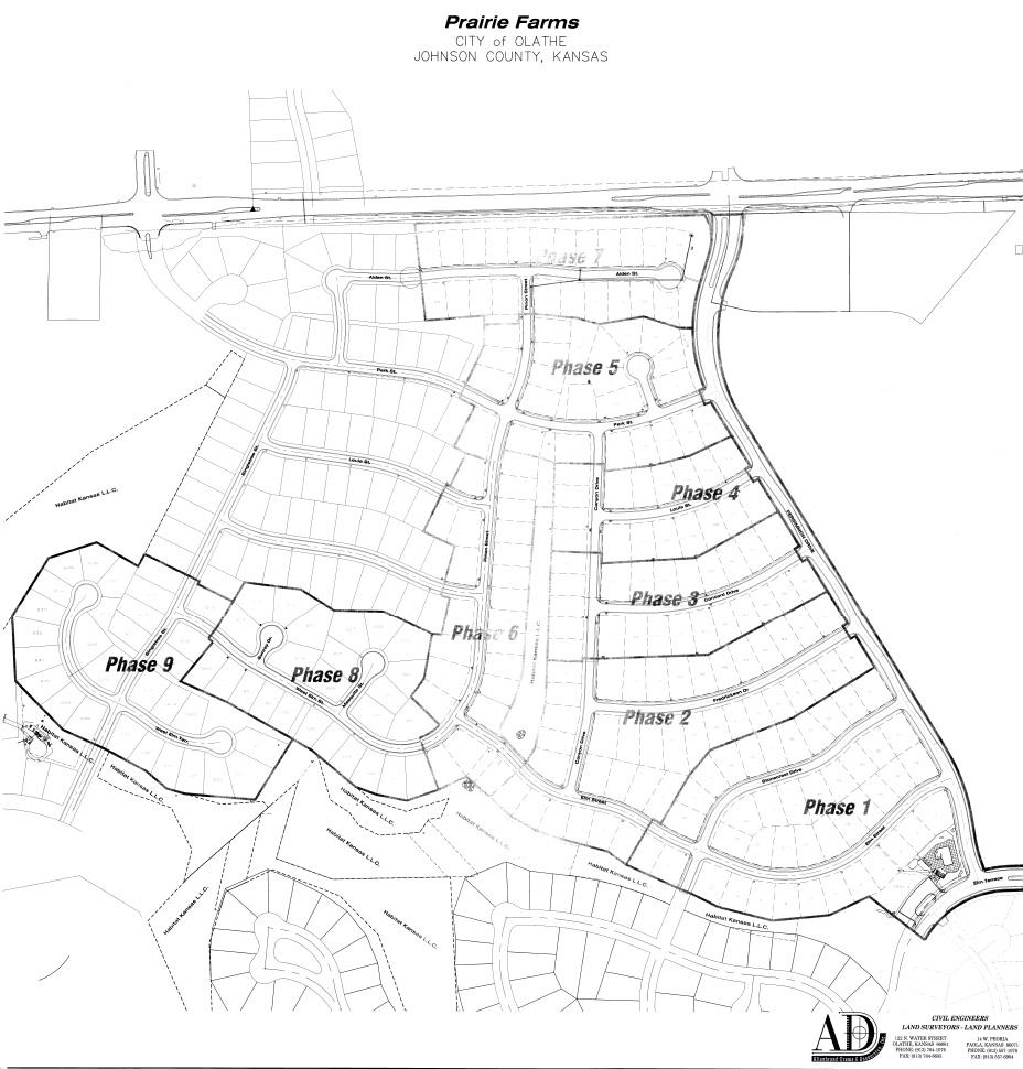928x970 Prairie Farms Plat Map Prairie Farms Olathe Kansas Residential