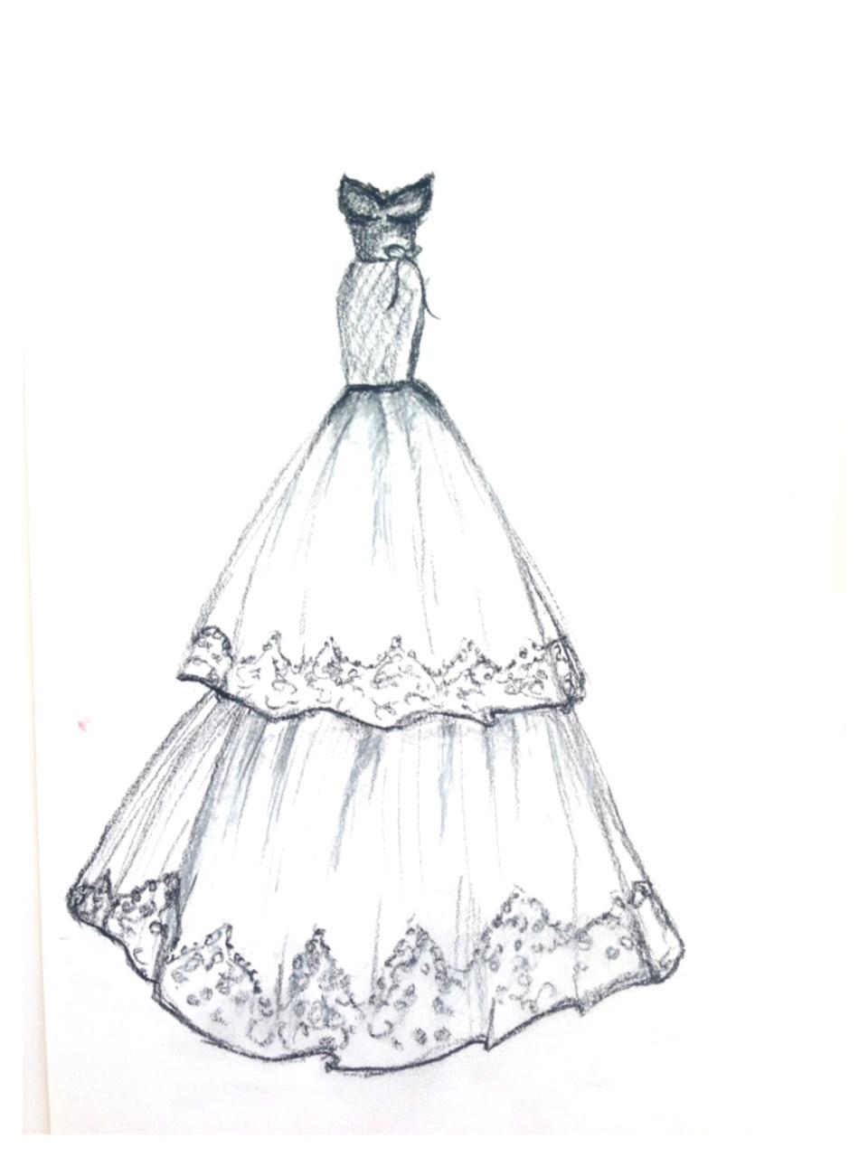 960x1280 Dress Designs Drawings