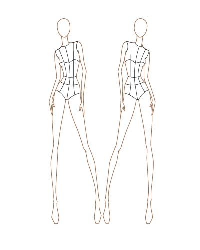 Fashion figure drawing at getdrawings free for personal use 400x500 fashion sketch templates thinkitpink maxwellsz