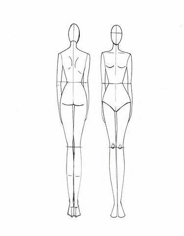 376x480 Fashion Design Fashion Drawing Mannequin Aecfashioncom, Fashion