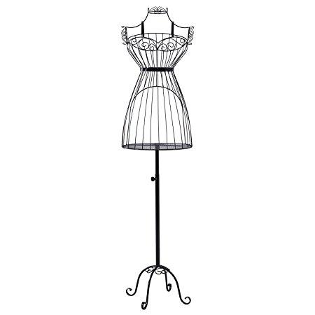 450x450 Songmics New Garment Rack Clothes Rail Hanger Dress Form Mannequin