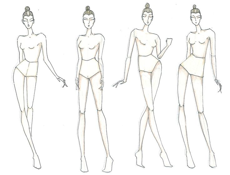 Fashion model figure drawing at getdrawings free for personal 736x561 fashion drawing model templates maxwellsz
