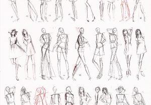 300x210 Fashion Figure Best Of Female Fashion Croquis