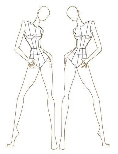 385x500 Fashion Model Figure