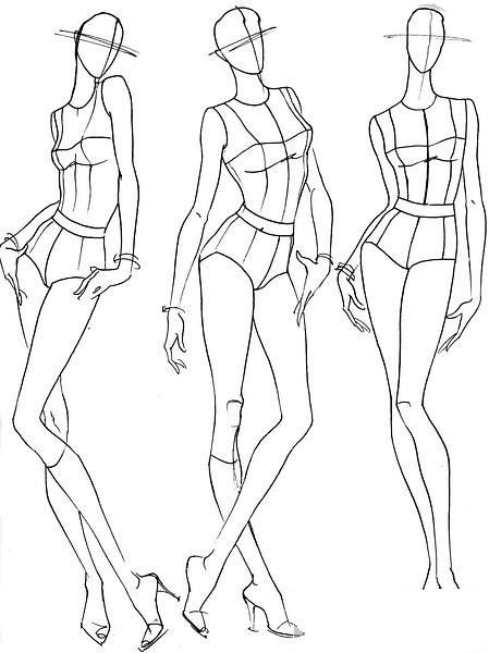 449x600 Figurines How To Draw Fashion Illustrations