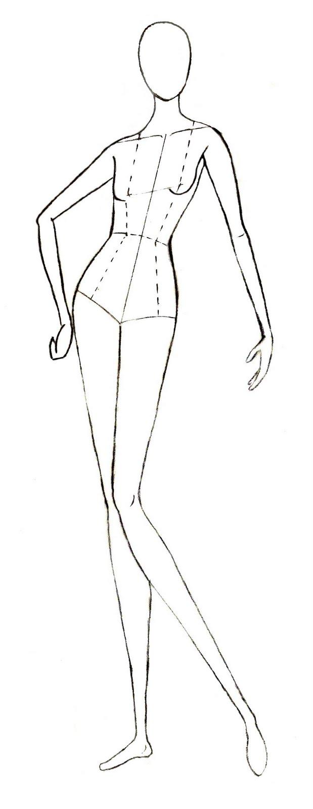 619x1600 Human Body Drawing Model
