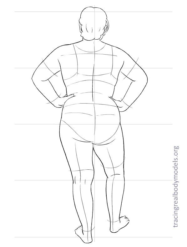 598x792 Realmodels Templates 0025 Sewing Female Bodies