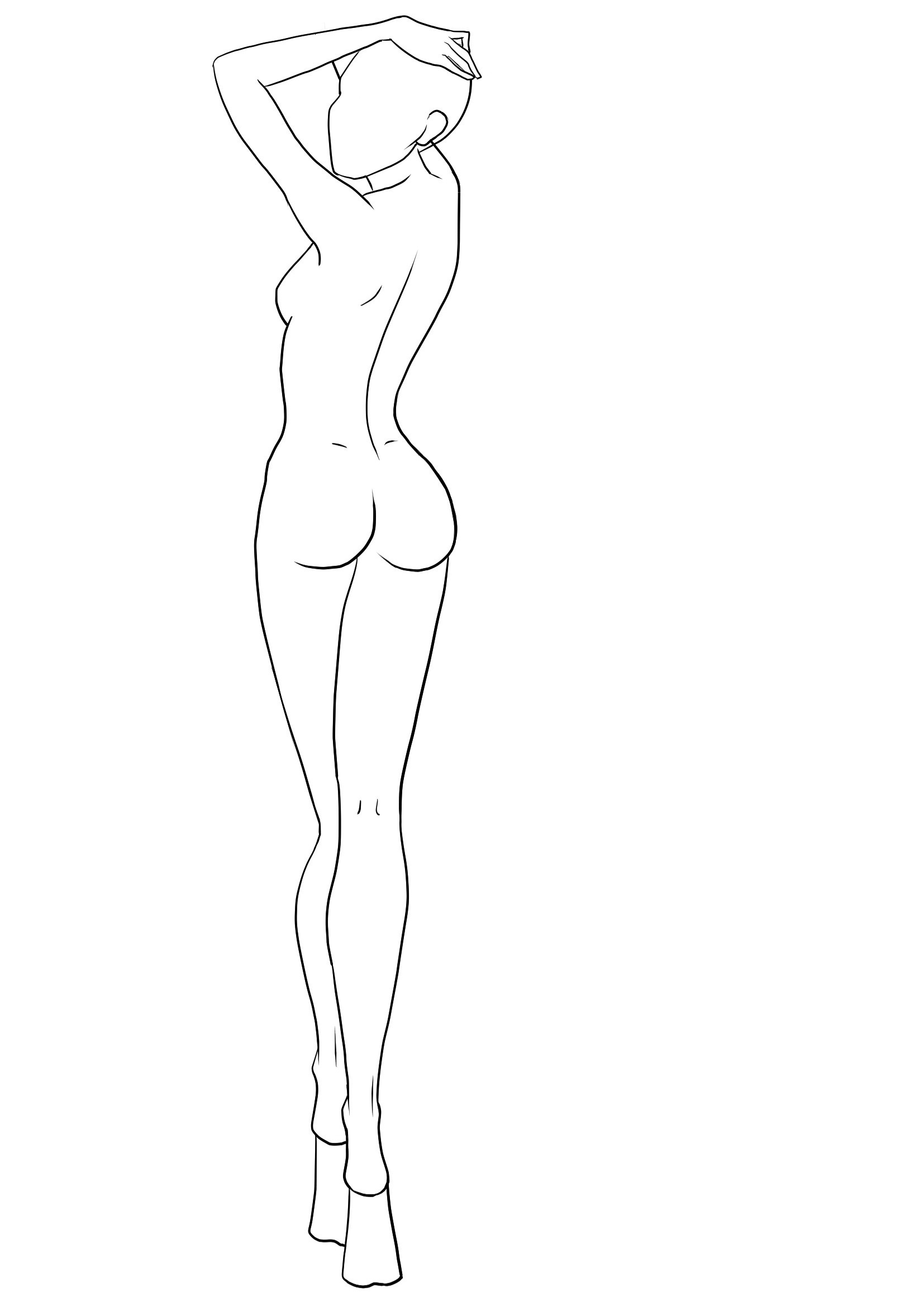Fashion Models Drawing At Getdrawings Free For Personal Use