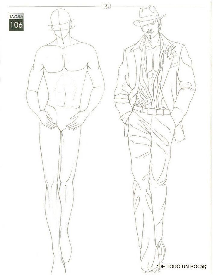 Fashion Poses Drawing