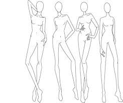 245x206 Fashion Drawing Templates Fashion Design Fashion