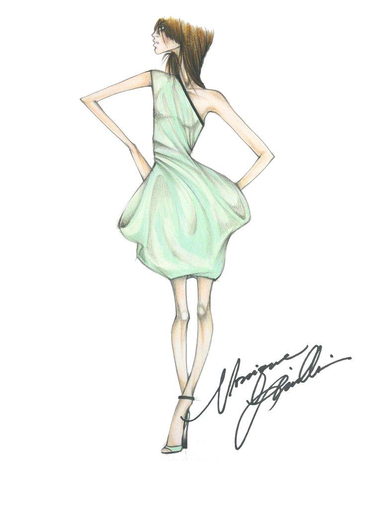 768x1024 Did Fashion Week Expectation Meet Reality Sketches, Fashion