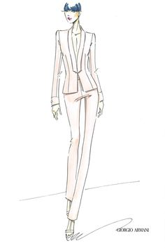 236x353 Fashion Illustration Leanne Marshall, Project Runway And Fashion