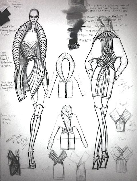 478x631 Irina Shabayeva Project Runway Collection Sketch My Project