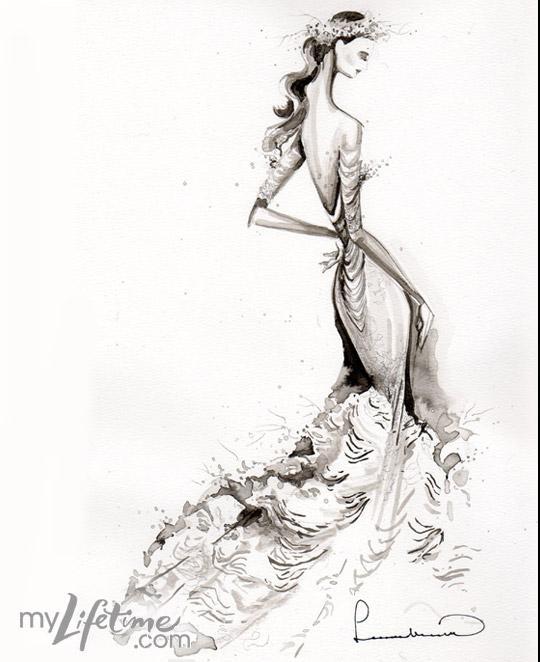 540x662 Leanne Marshall Project Runway Royal Wedding Dresses Fashion