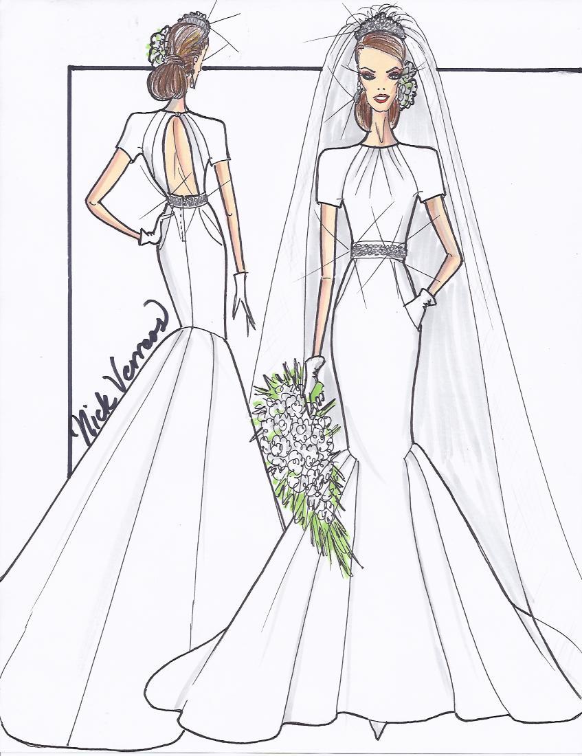 847x1100 Nikolaki Today Show Nick Verreos Wedding Gown Design For Kate