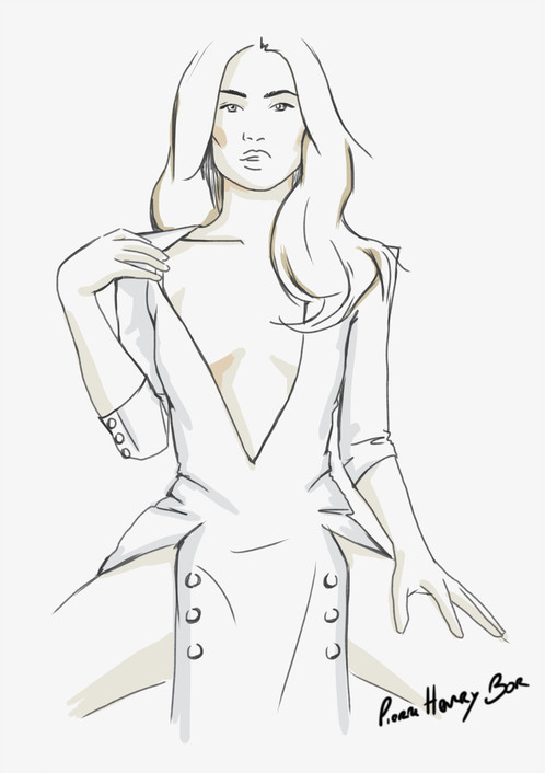 498x706 Project Runway Pierre Henry Bor Paris, Vegan Made In France