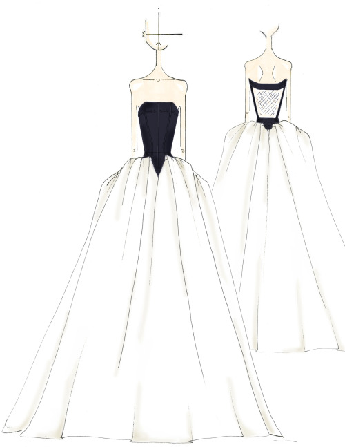 500x647 Verawanggang Wang Miriam Spring 2014 Bridal Collection