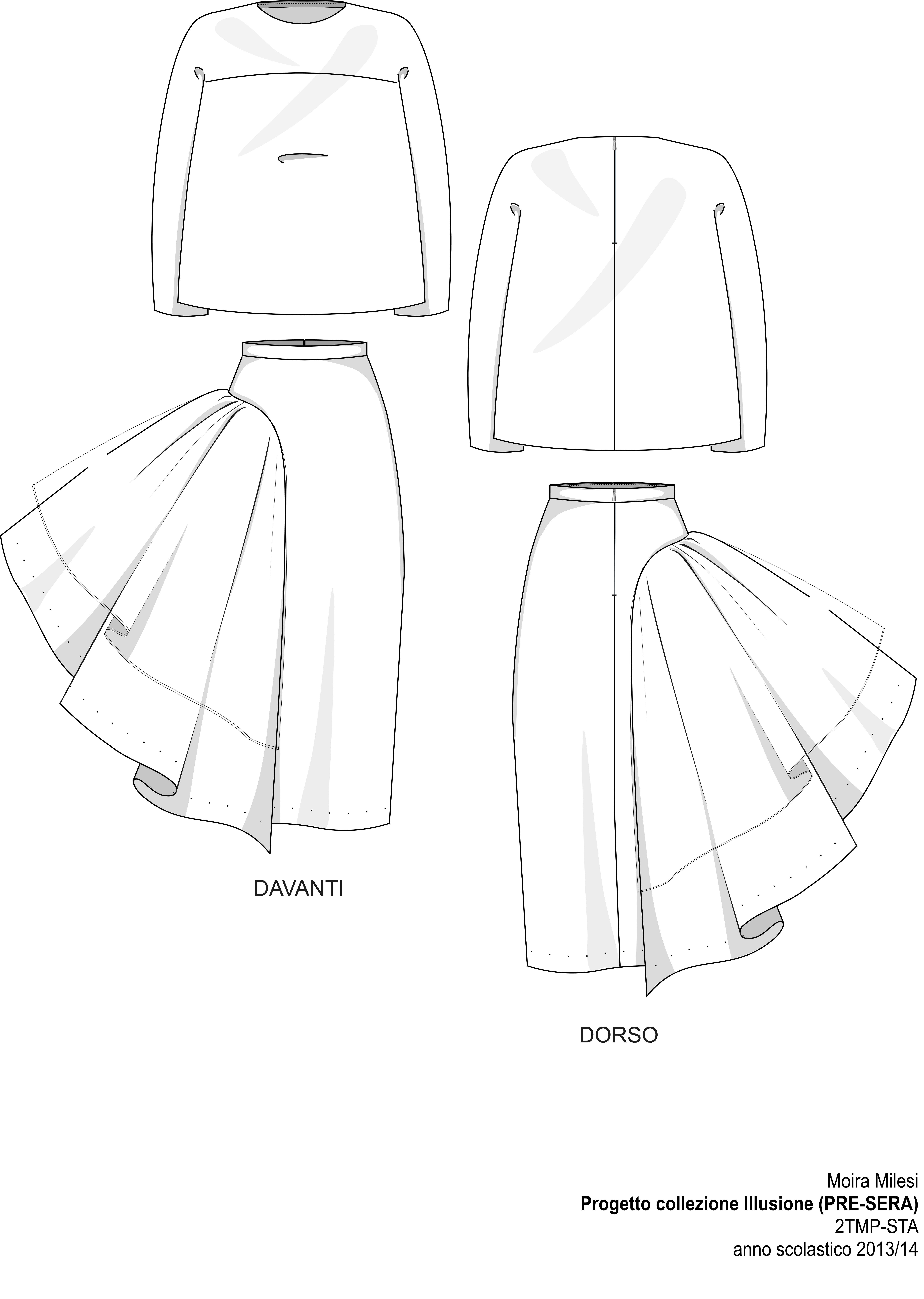 6714x9438 Weirdly Interesting Technical Sheet 5. Evening Fashion Show Sta