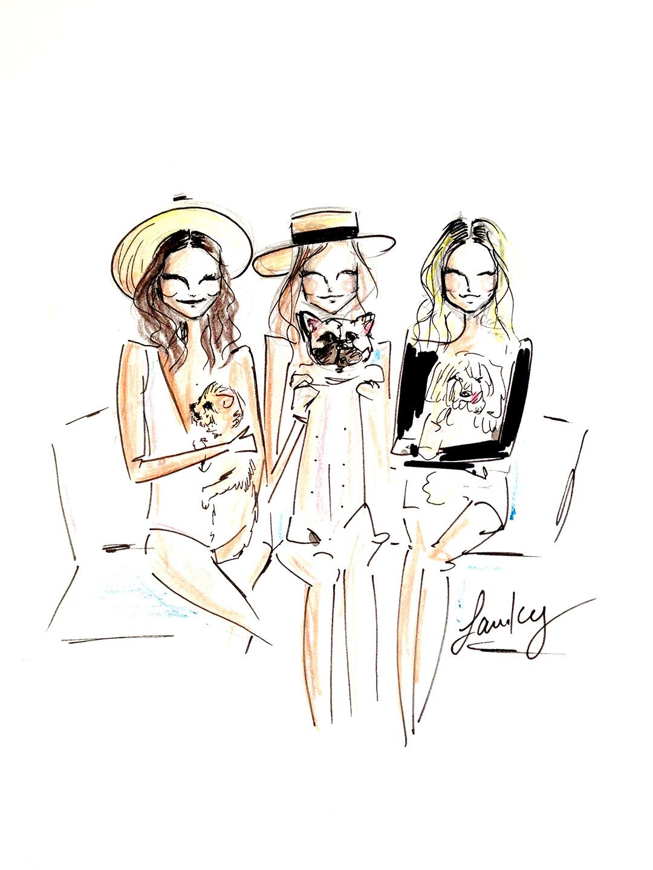 1080x1440 5 Must Follow Fashion Illustrators On Instagram Vanity Fair