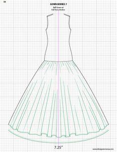 236x306 Adobe Illustrator Flat Fashion Sketch Templates