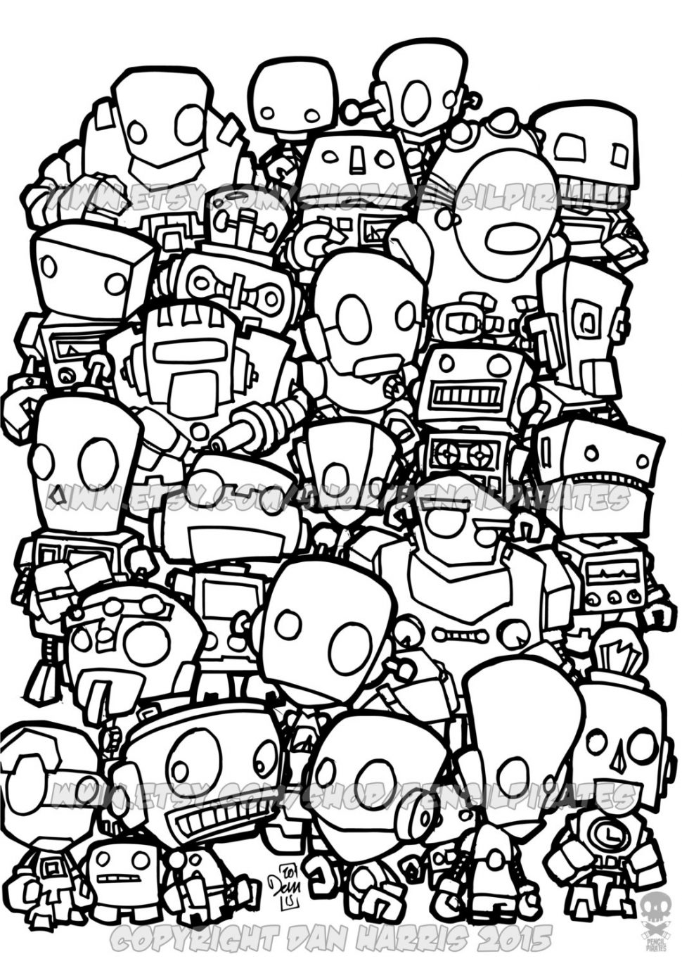 970x1373 Coloring Robot Coloring Book Il Fullxfull 774324462 9y2t