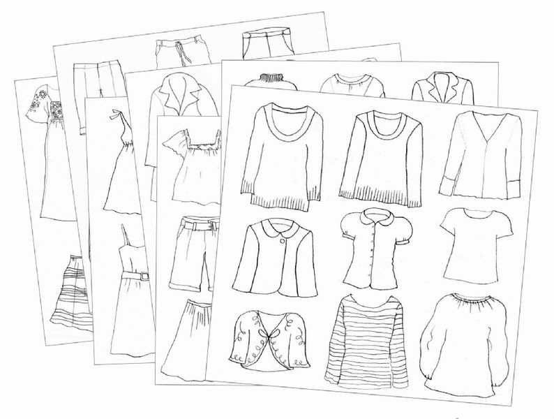 794x600 Djeco Drawing A Fashion Show Set Little Obsessions Educational