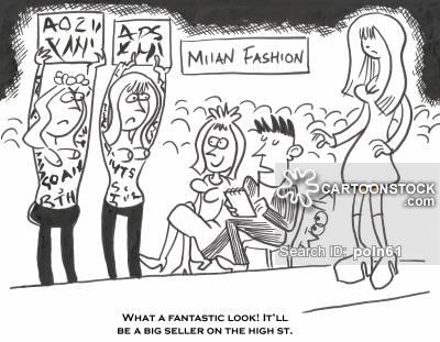 400x311 Milan Fashion Week Cartoons And Comics