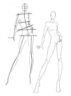 294x397 23 Best Fashion Drawing Images On Drawings, Draw