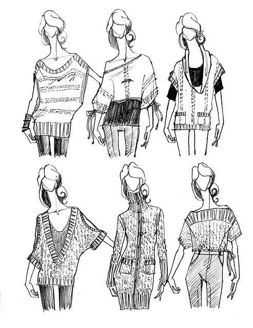Fashionista Drawing